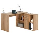 Schreibtisch CARMEN mit Regal sonoma