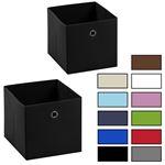 Stoffbox ELA faltbar im 2er Pack ind 4 Farben