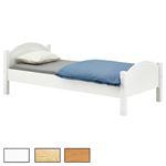 Holzbett in verschiedenen Farben
