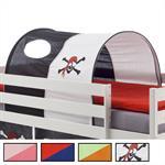 Tunnel für Hochbett, Spielbett, Rutschbett in 4 Farben