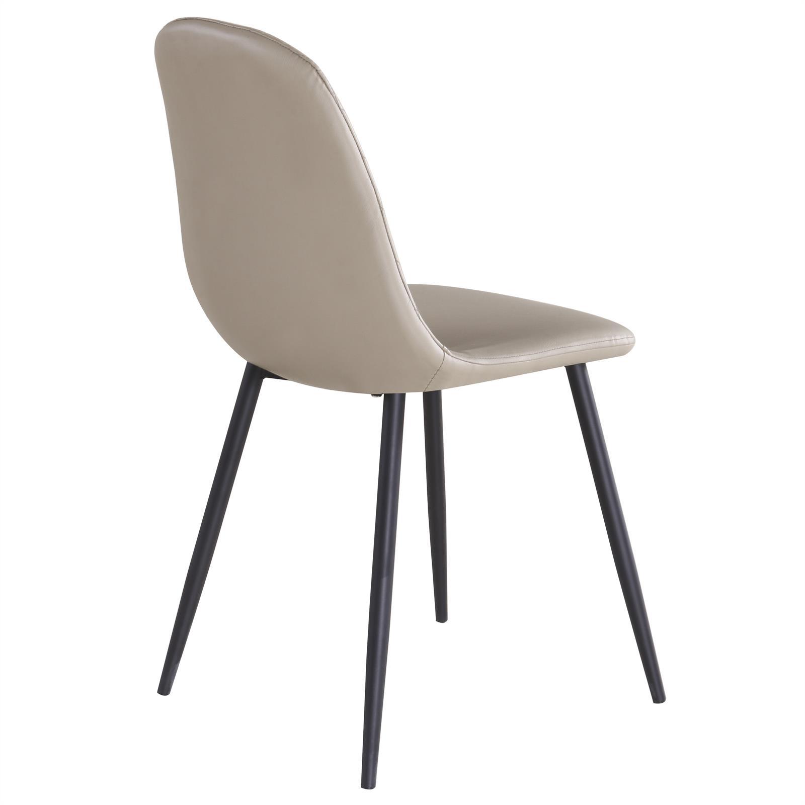 b ware esszimmerstuhl esstuhl essgruppe k chenstuhl im 4er set kunstleder 2 wahl ebay. Black Bedroom Furniture Sets. Home Design Ideas