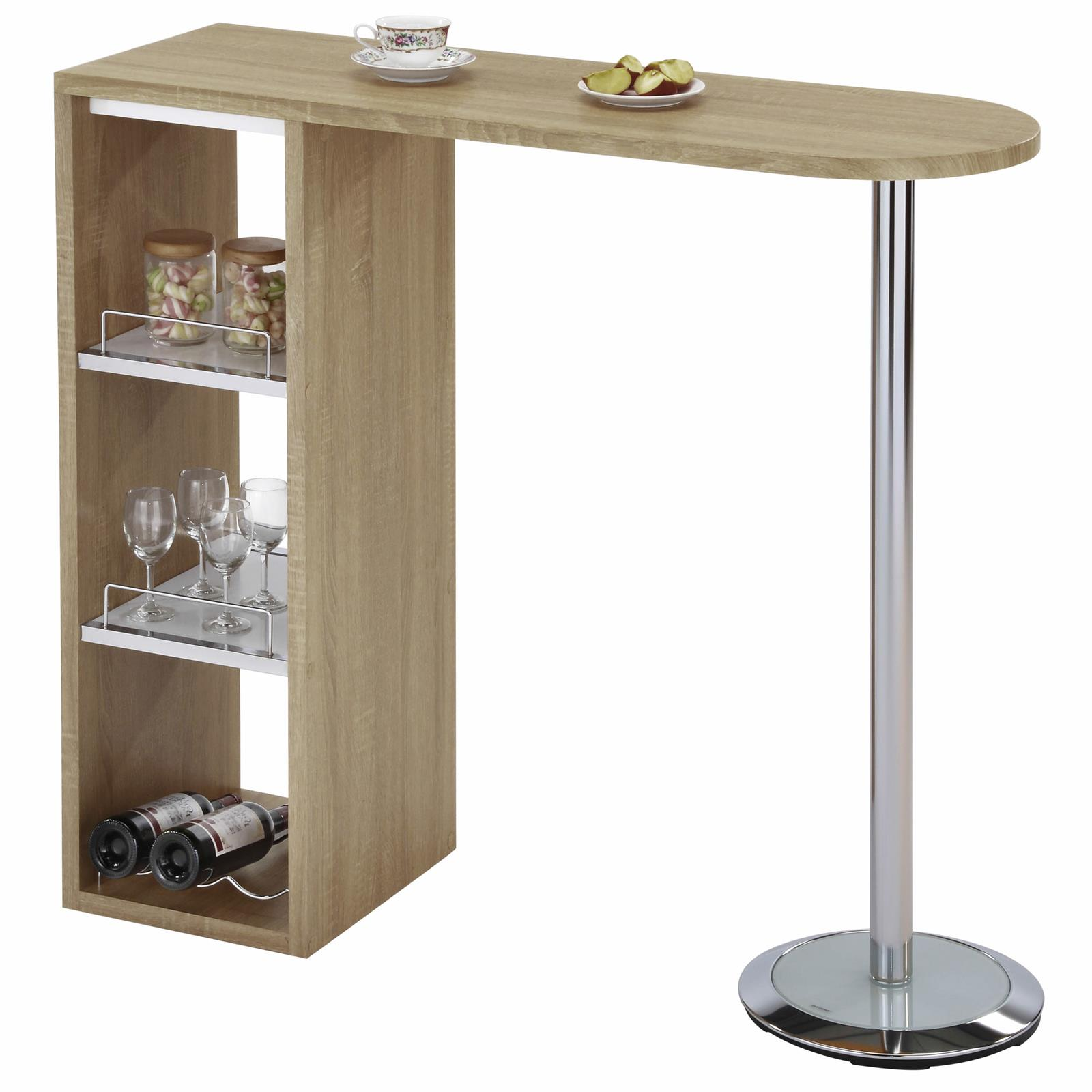 bartisch bartresen stehtisch k chentheke bistrotisch tresentisch ebay. Black Bedroom Furniture Sets. Home Design Ideas