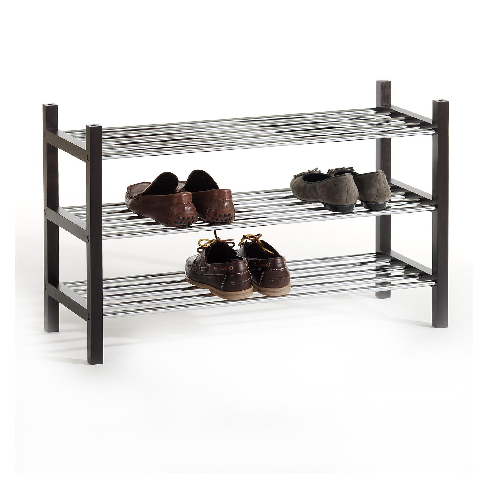 schuhregal schuhablage schuhst nder schuhschrank holz 3. Black Bedroom Furniture Sets. Home Design Ideas