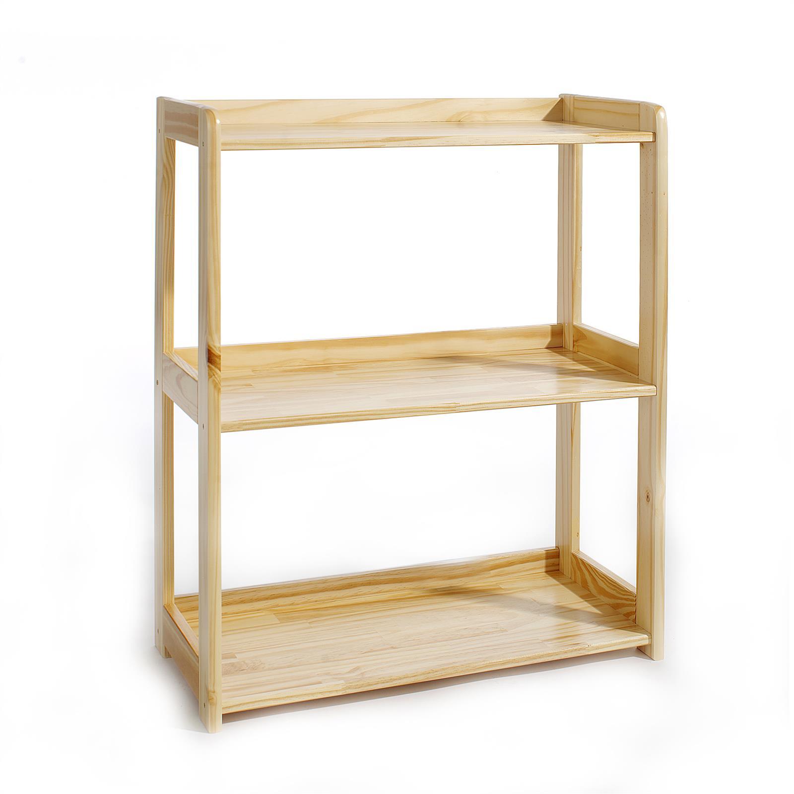 regal b cherregal standregal 3 b den kiefer natur ebay. Black Bedroom Furniture Sets. Home Design Ideas