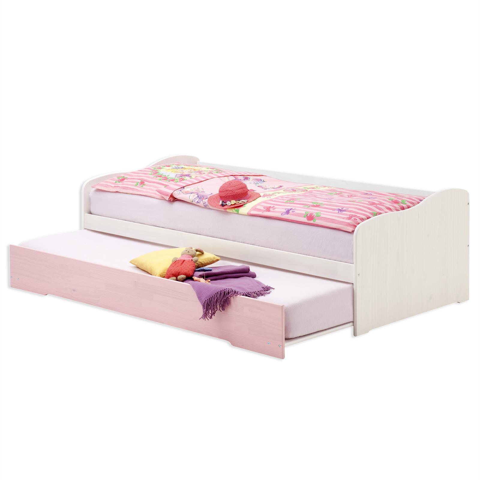 jugendbett funktionsbett g ste einzel auszugs bettkasten tandemliege 90x200 ebay. Black Bedroom Furniture Sets. Home Design Ideas