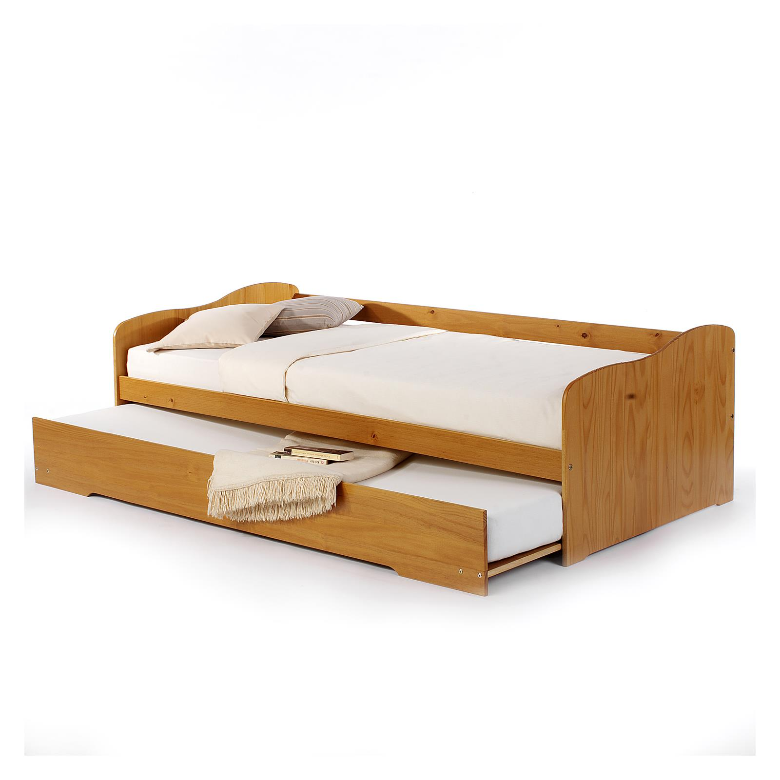 jugendbett funktionsbett g ste einzel auszugs bettkasten tandemliege 90x200 ebay. Black Bedroom Furniture Sets. Home Design Ideas