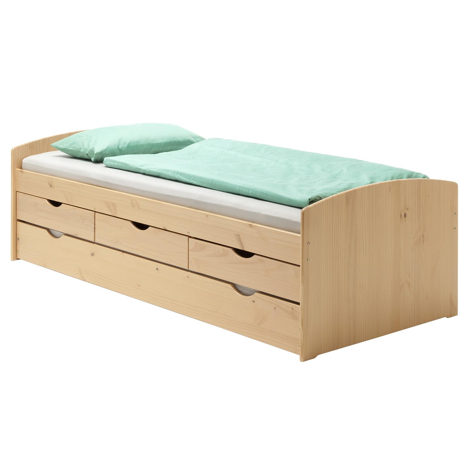 jugendbett funktionsbett g ste einzel auszugs auszieh. Black Bedroom Furniture Sets. Home Design Ideas