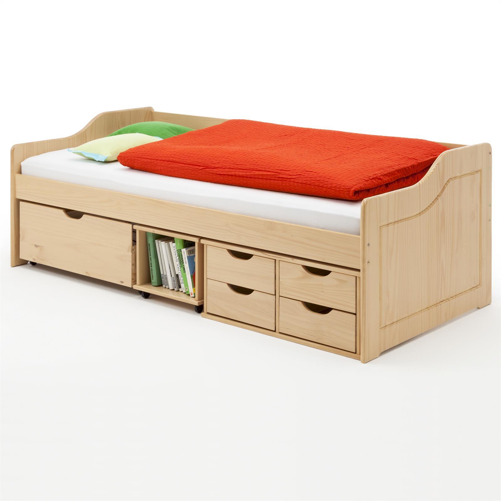 sofabett funktionsbett kojenbett kinderbett jugendbett 90. Black Bedroom Furniture Sets. Home Design Ideas