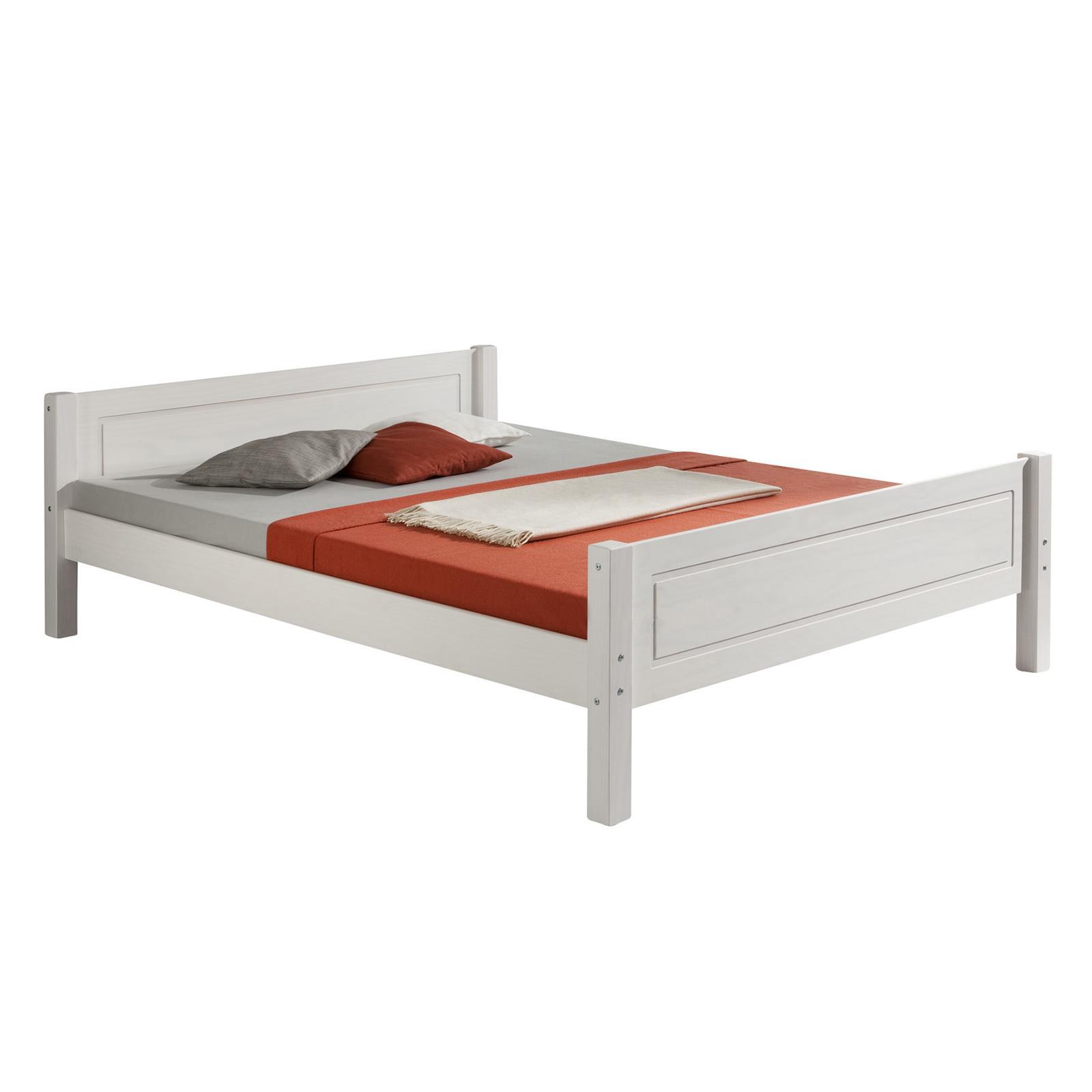 Doppelbett Größen : Holzbett einzelbett doppelbett landhausbett kiefer in