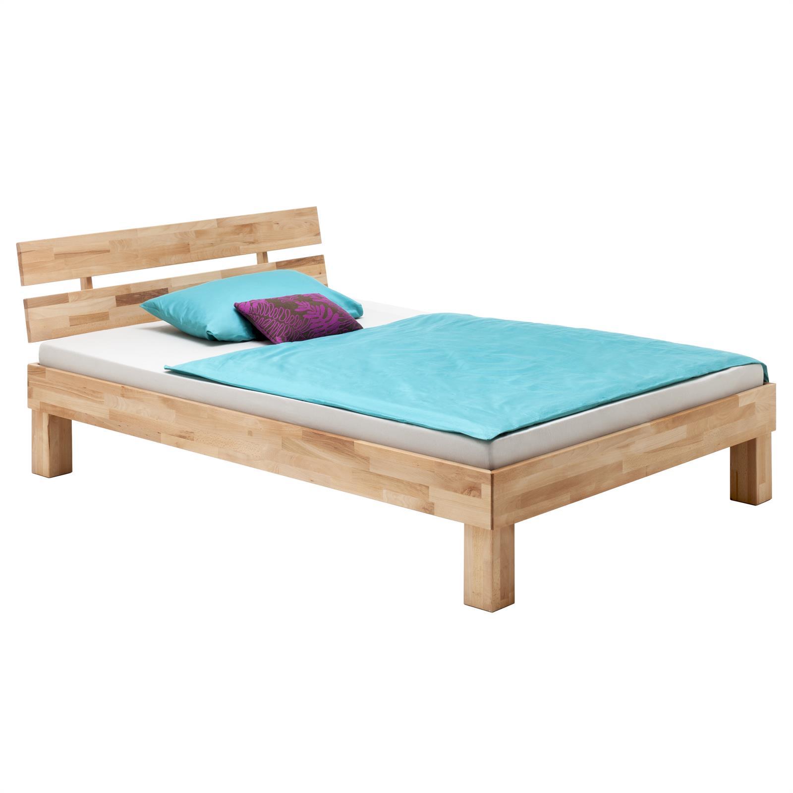 buchebett futonbett bettgestell jugendbett doppel einzel buche massivholz ge lt ebay. Black Bedroom Furniture Sets. Home Design Ideas