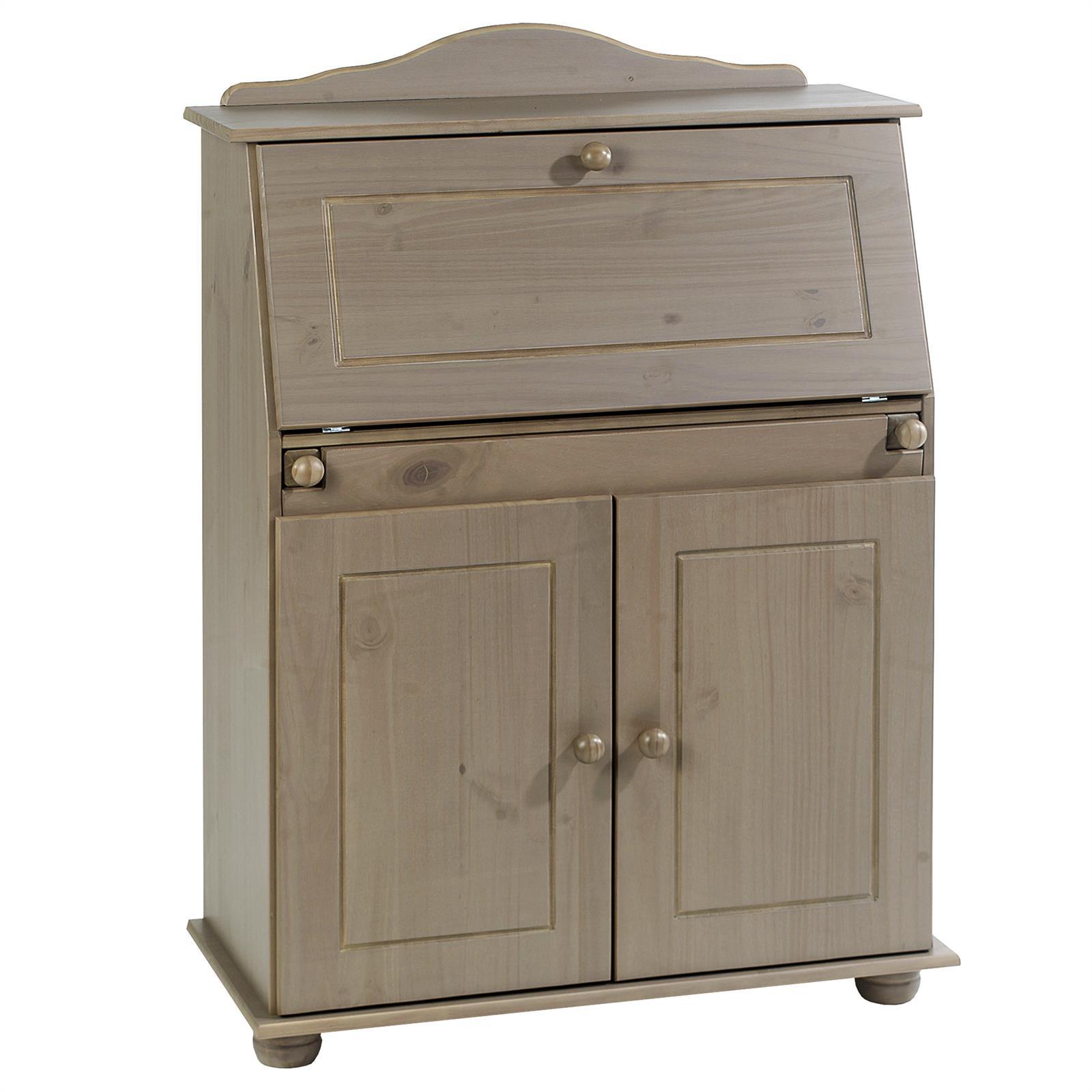 sekret r schreibtisch landhausstil kommode mit klappe schreibkommode farbauswahl ebay. Black Bedroom Furniture Sets. Home Design Ideas