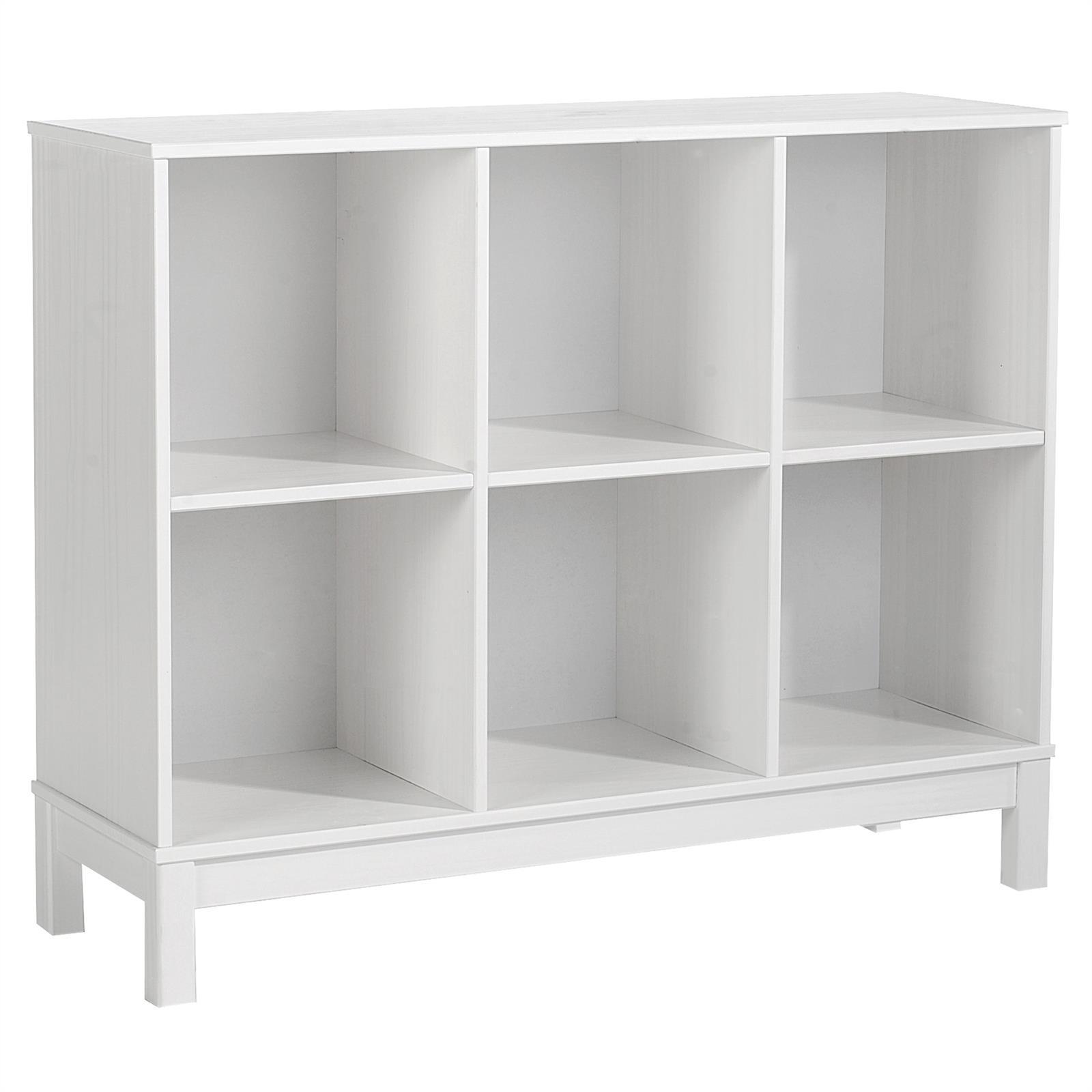 regal standregal b cherregal b roregal holzregal 6 f cher kiefer massiv lackiert ebay. Black Bedroom Furniture Sets. Home Design Ideas