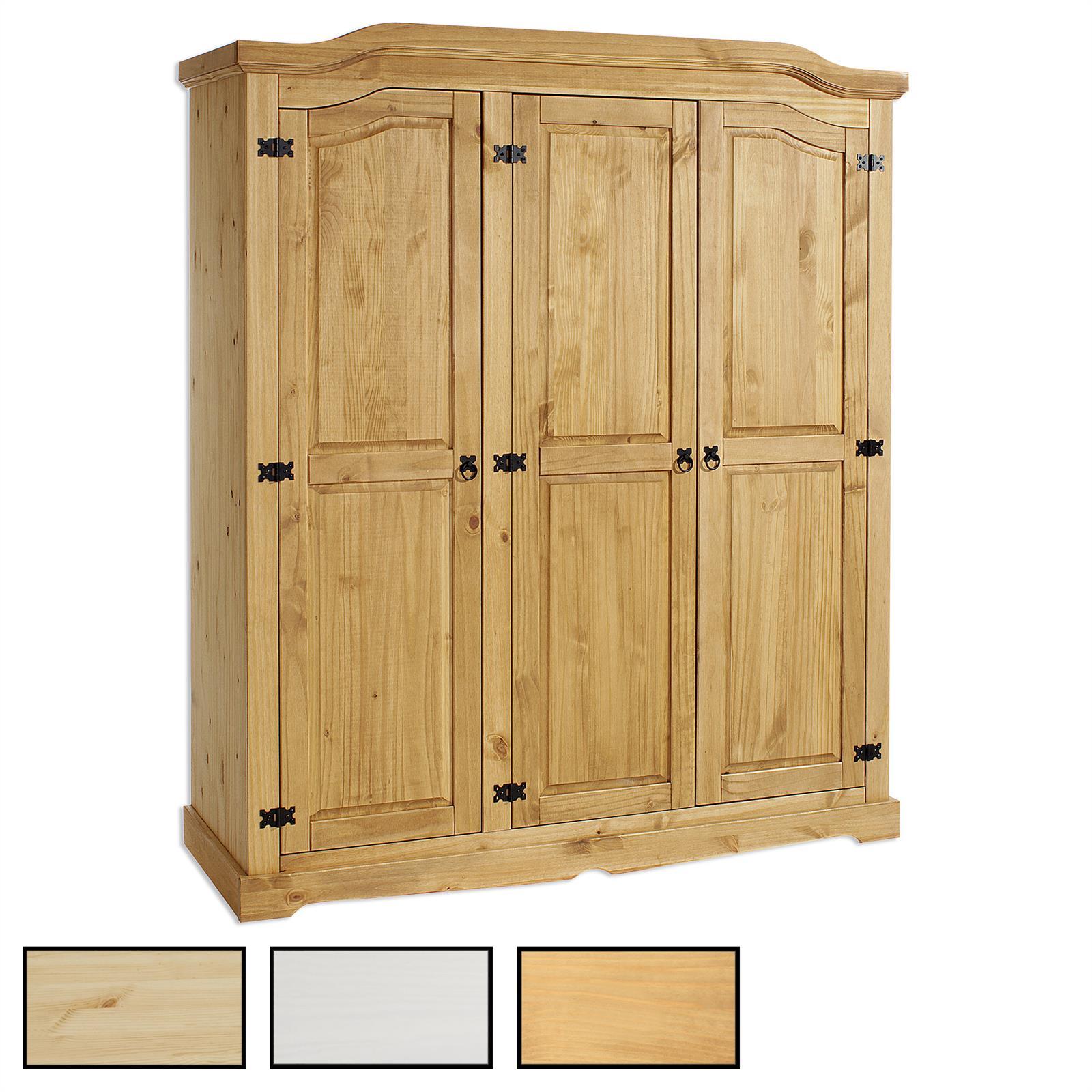 kleiderschrank garderobenschrank dielenschrank kiefer. Black Bedroom Furniture Sets. Home Design Ideas