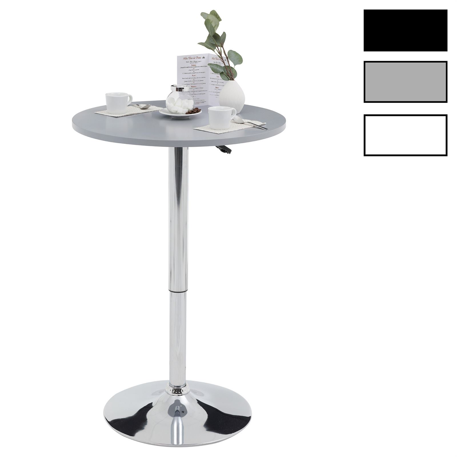 bartisch stehtisch bistrotisch beistelltisch. Black Bedroom Furniture Sets. Home Design Ideas