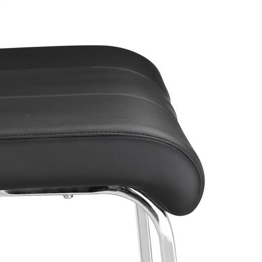 esszimmerbank polsterbank sitzbank mit r ckenlehne k chenbank in schwarz ebay. Black Bedroom Furniture Sets. Home Design Ideas