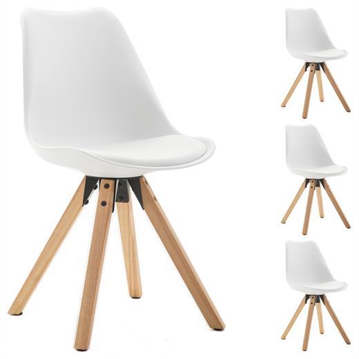 4er set esszimmerstuhl k chenstuhl stuhlgruppe essstuhl. Black Bedroom Furniture Sets. Home Design Ideas