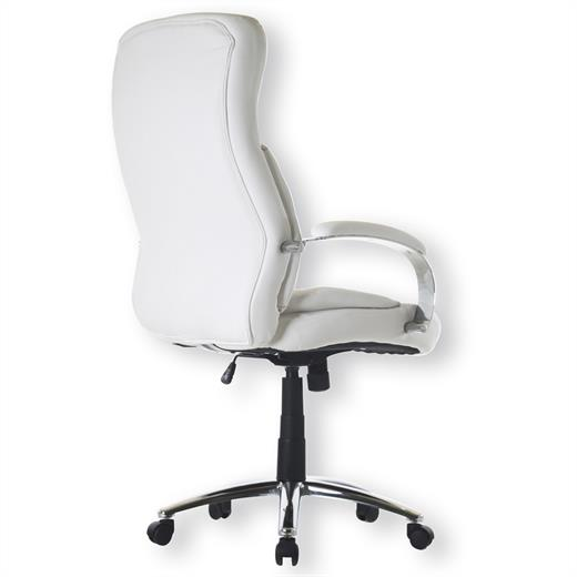 b rodrehstuhl chefsessel schreibtischstuhl weiss neu ebay. Black Bedroom Furniture Sets. Home Design Ideas