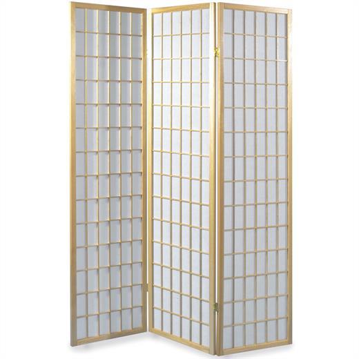 Trennwand Aus Holz Im Schlafzimmer: Paravent Holz Rahmen Natur Spanische Wand Trennwand