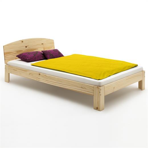 Kiefer holzbett einzelbett doppelbett jugendbett for Jugendbett doppelbett