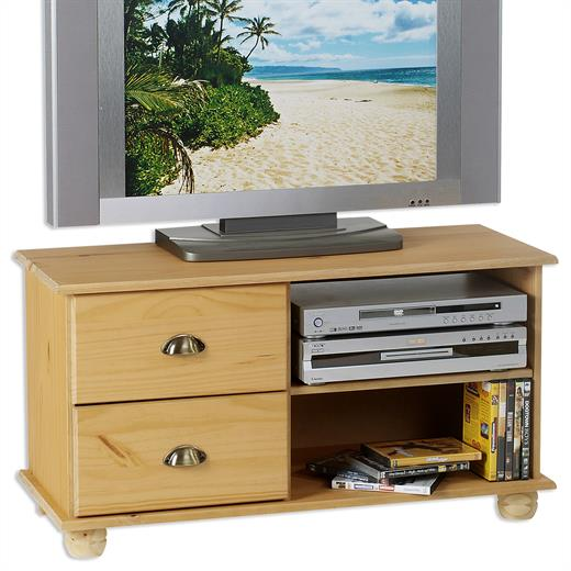 tv m bel lowboard aus kiefer massiv fernseh tisch bank element. Black Bedroom Furniture Sets. Home Design Ideas