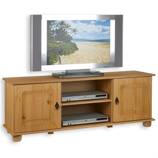 lowboard tv m bel phonom bel tv rack kiefer massiv gebeizt. Black Bedroom Furniture Sets. Home Design Ideas