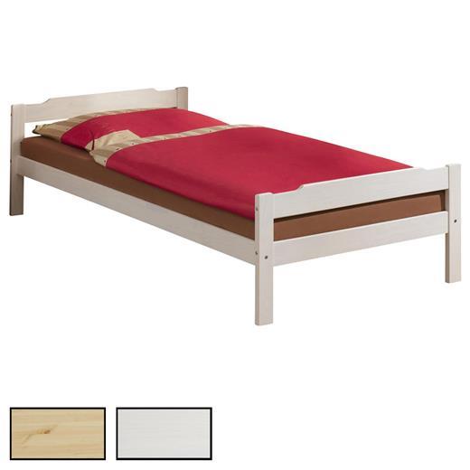 einzelbett g stebett bettgestell kiefer massiv 90x200cm in 3 farben ebay. Black Bedroom Furniture Sets. Home Design Ideas