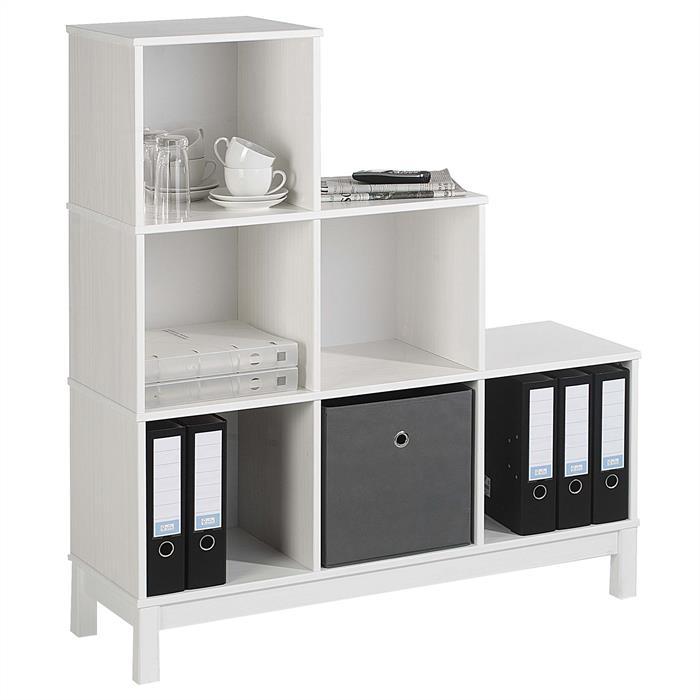 stufenregal regal gestell treppe b cherregal holzregal 6. Black Bedroom Furniture Sets. Home Design Ideas