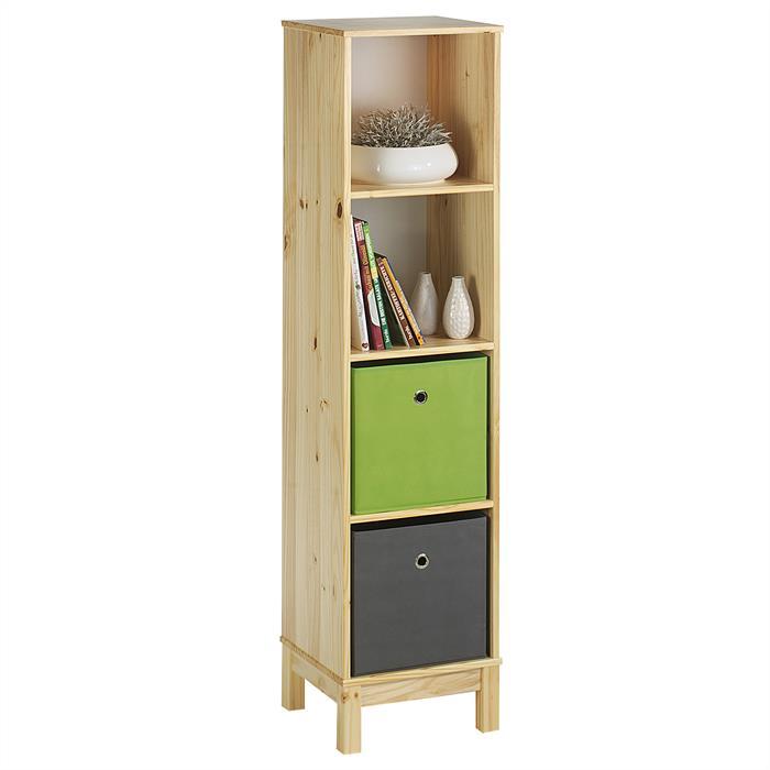 regal standregal b cherregal b roregal holzregal 4 f cher kiefer massiv lackiert ebay. Black Bedroom Furniture Sets. Home Design Ideas