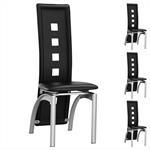 Stuhl Esszimmerstuhl MONICA 4er Set schwarz