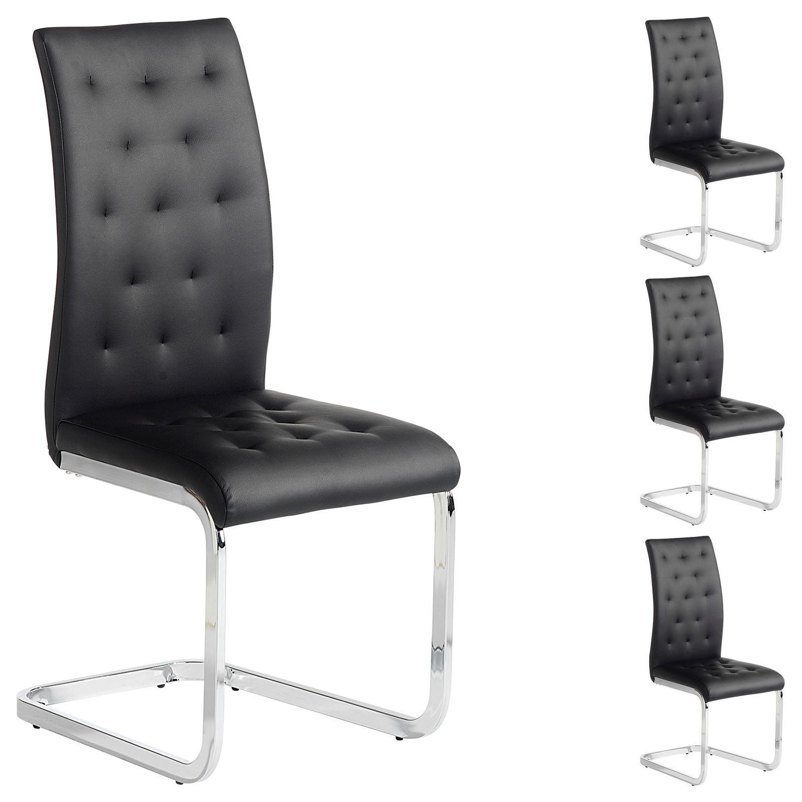 Esszimmerstuhl chloe in schwarz mobilia24 for Esszimmerstuhl schwarz