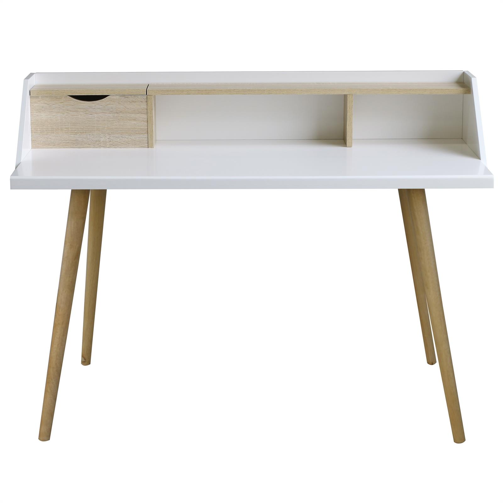 konsolentisch sekret r joan sonoma eiche wei mobilia24. Black Bedroom Furniture Sets. Home Design Ideas