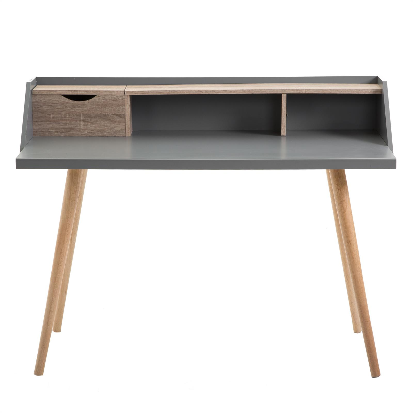 konsolentisch sekret r joan sonoma eiche grau mobilia24. Black Bedroom Furniture Sets. Home Design Ideas
