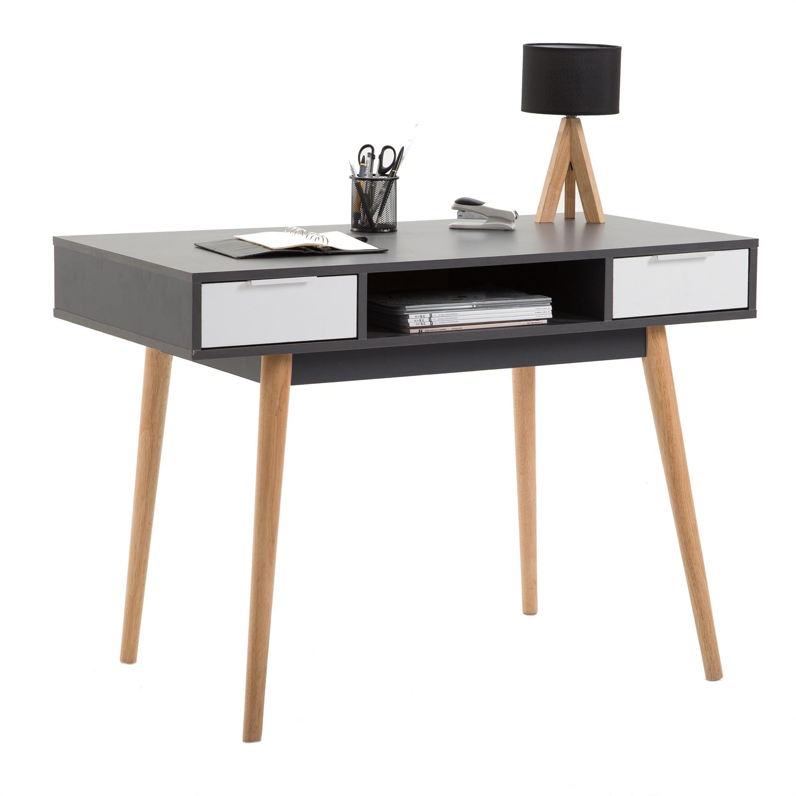 b ware konsolentisch sekret r newport grau wei mobilia24. Black Bedroom Furniture Sets. Home Design Ideas