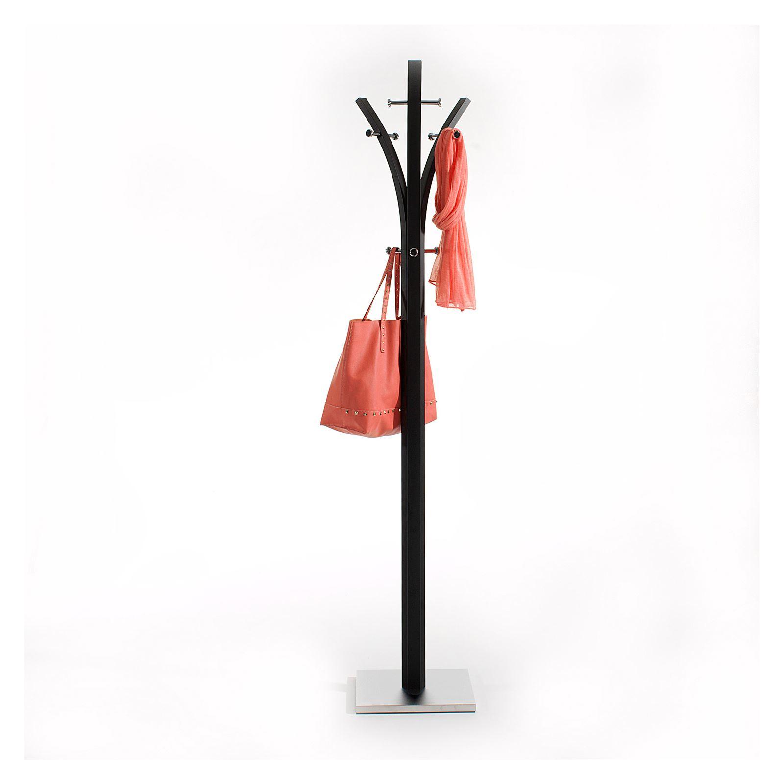 garderobenst nder denis in schwarz mobilia24. Black Bedroom Furniture Sets. Home Design Ideas