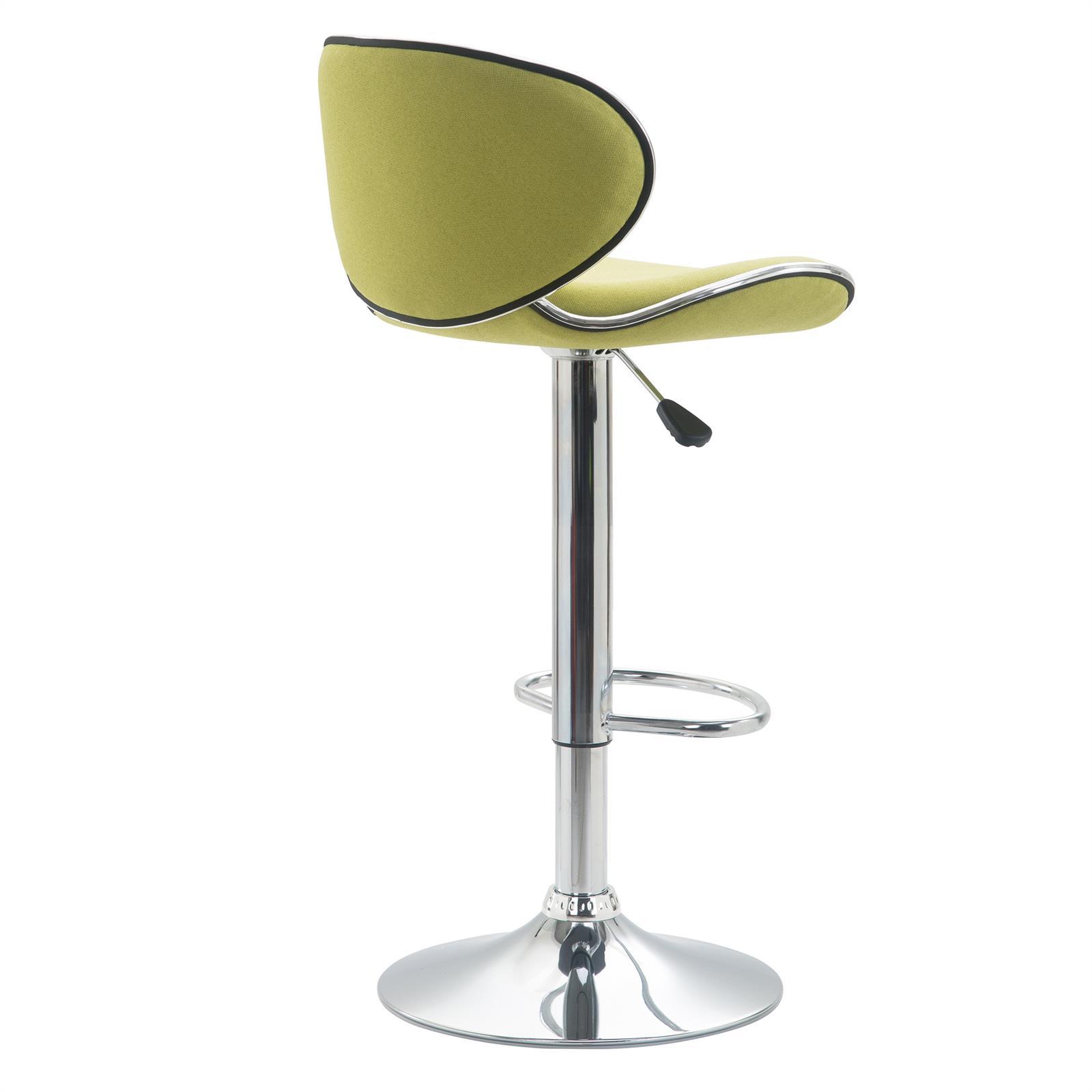 Barhocker lounge mit stoffbezug gr n im 2er pack mobilia24 for Barhocker lounge