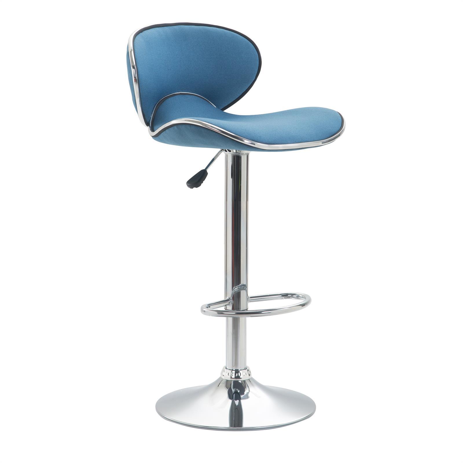 barhocker lounge mit stoffbezug blau im 2er pack mobilia24. Black Bedroom Furniture Sets. Home Design Ideas