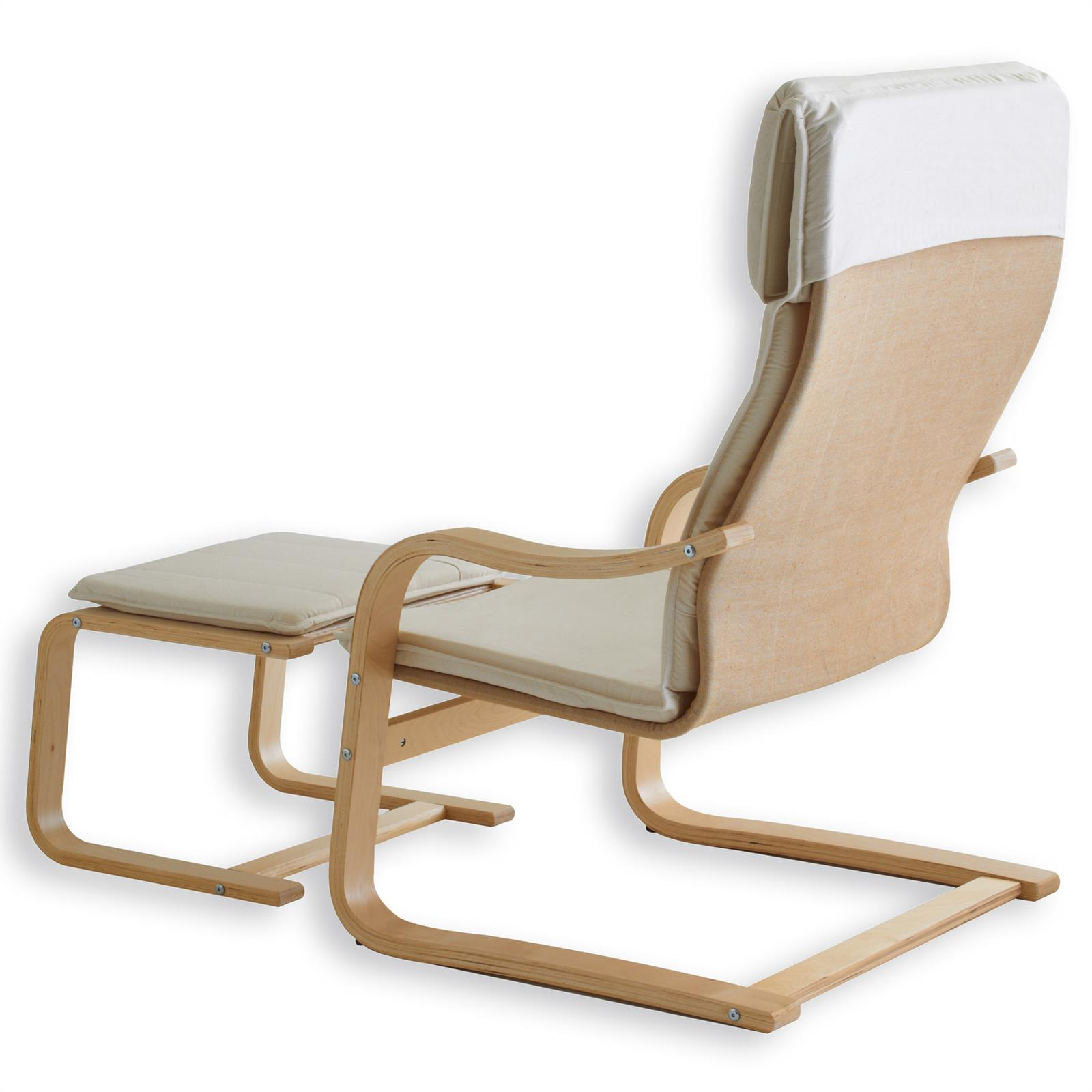 relaxsessel lina mit hocker in beige mobilia24. Black Bedroom Furniture Sets. Home Design Ideas