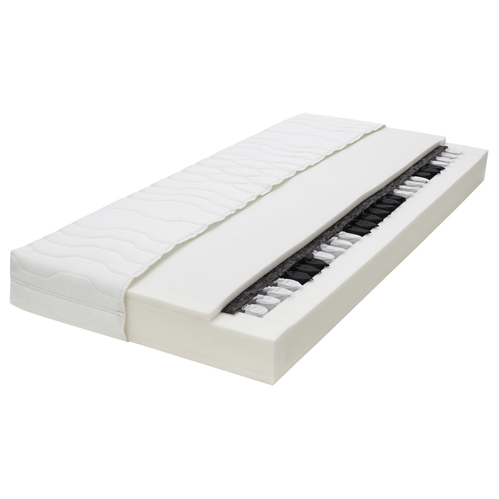 7 zonen taschenfederkern matratze 140x200 cm mobilia24. Black Bedroom Furniture Sets. Home Design Ideas