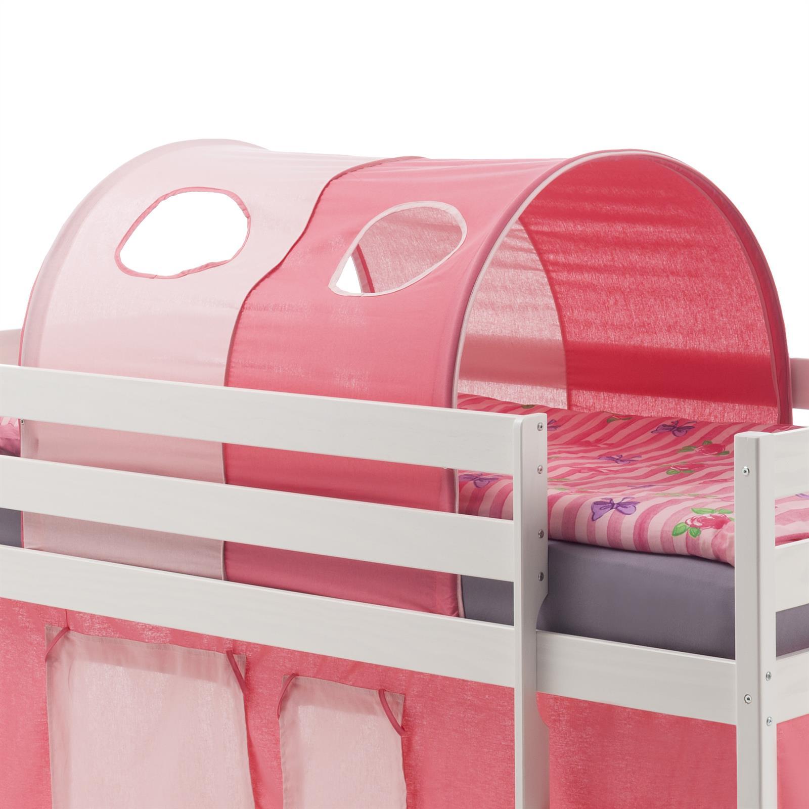 Tunnel MAX Für Spielbett Hochbett, In Pink/rosa