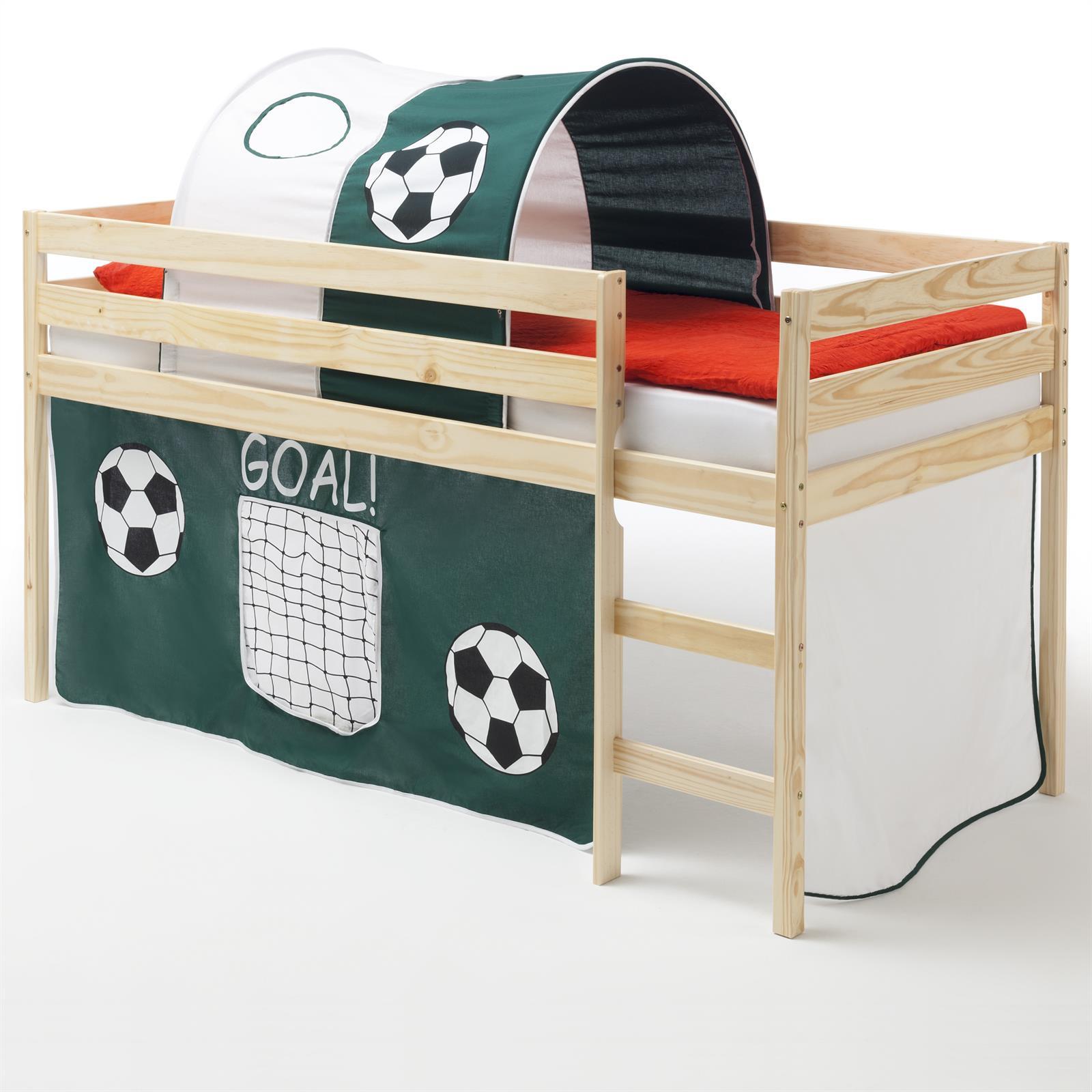 hochbett erik vorhang tunnel fu ball mobilia24. Black Bedroom Furniture Sets. Home Design Ideas
