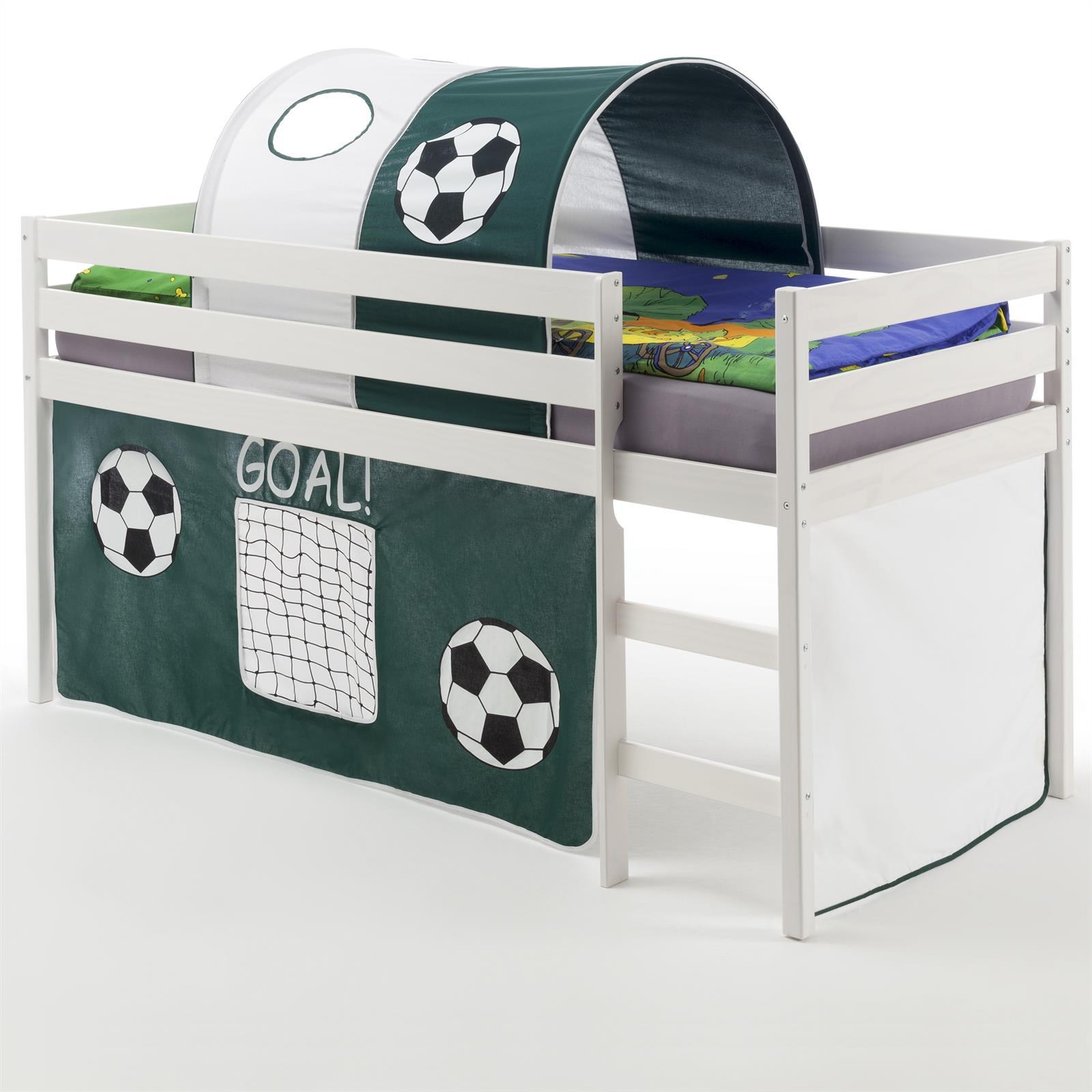 hochbett erik vorhang tunnel fussball mobilia24. Black Bedroom Furniture Sets. Home Design Ideas