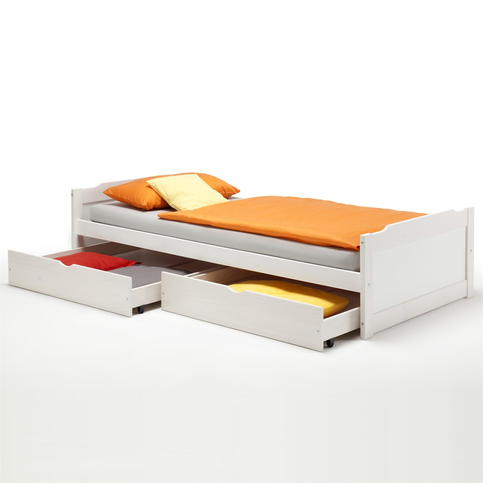 kojenbett fritz in weiss 90 x 200 cm mobilia24. Black Bedroom Furniture Sets. Home Design Ideas