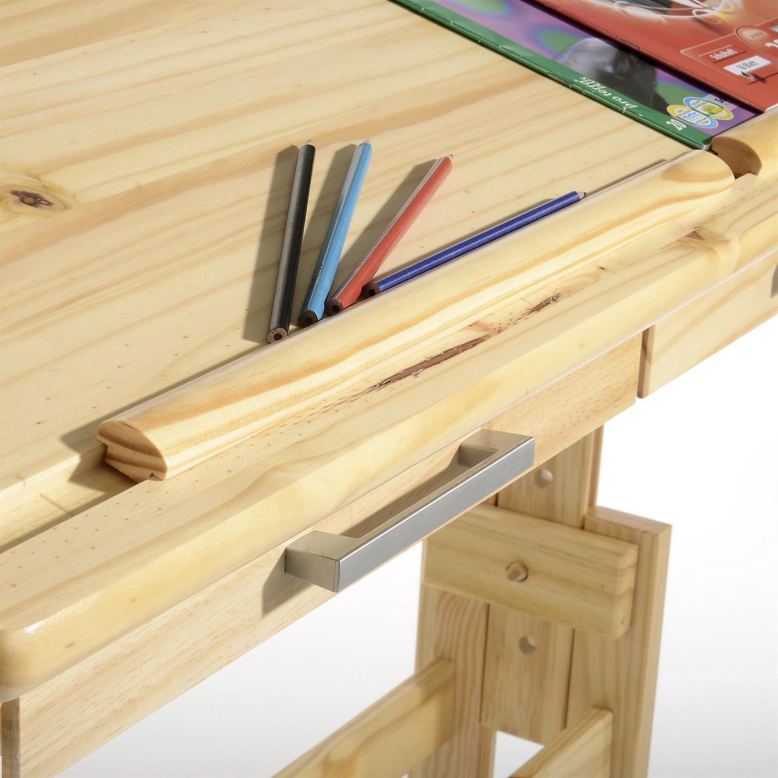 kinderschreibtisch olivia natur lackiert mobilia24. Black Bedroom Furniture Sets. Home Design Ideas