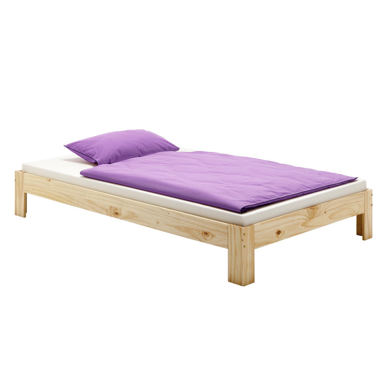 futonbett thomas 140 x 200 cm natur mobilia24. Black Bedroom Furniture Sets. Home Design Ideas