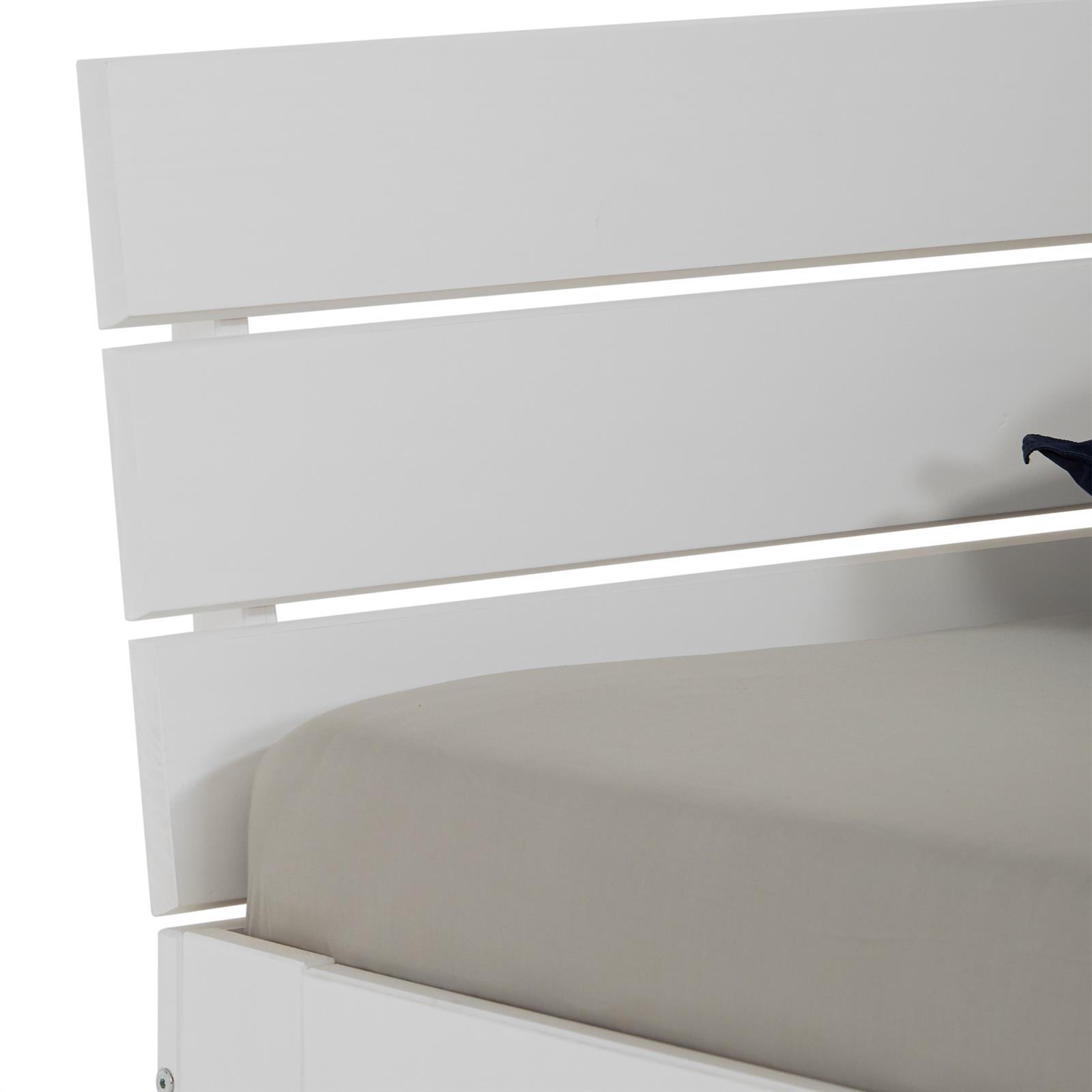 doppelbett thomas 140x200 cm wei mobilia24. Black Bedroom Furniture Sets. Home Design Ideas