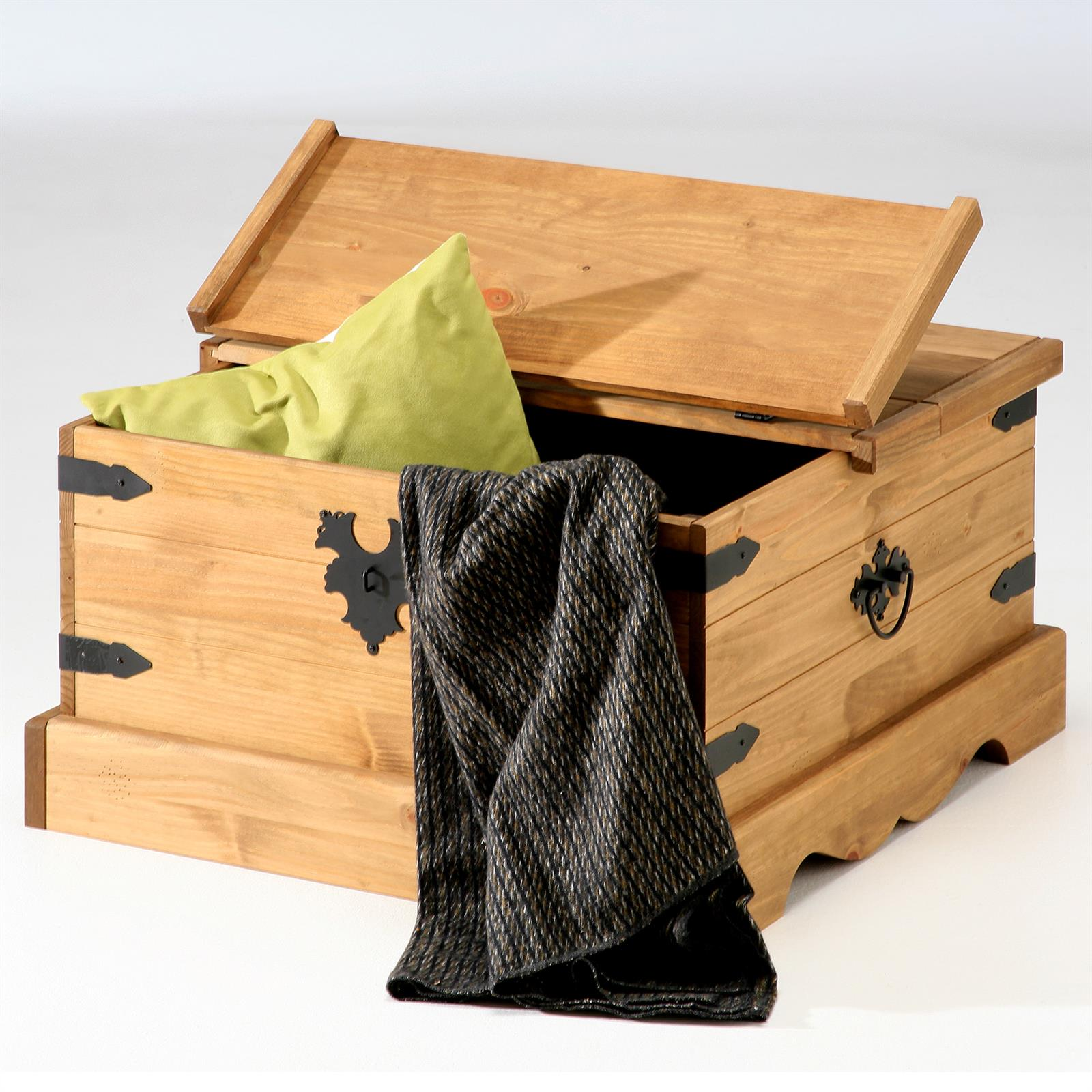 mexico m bel truhentisch tequila kiefer massiv mobilia24. Black Bedroom Furniture Sets. Home Design Ideas