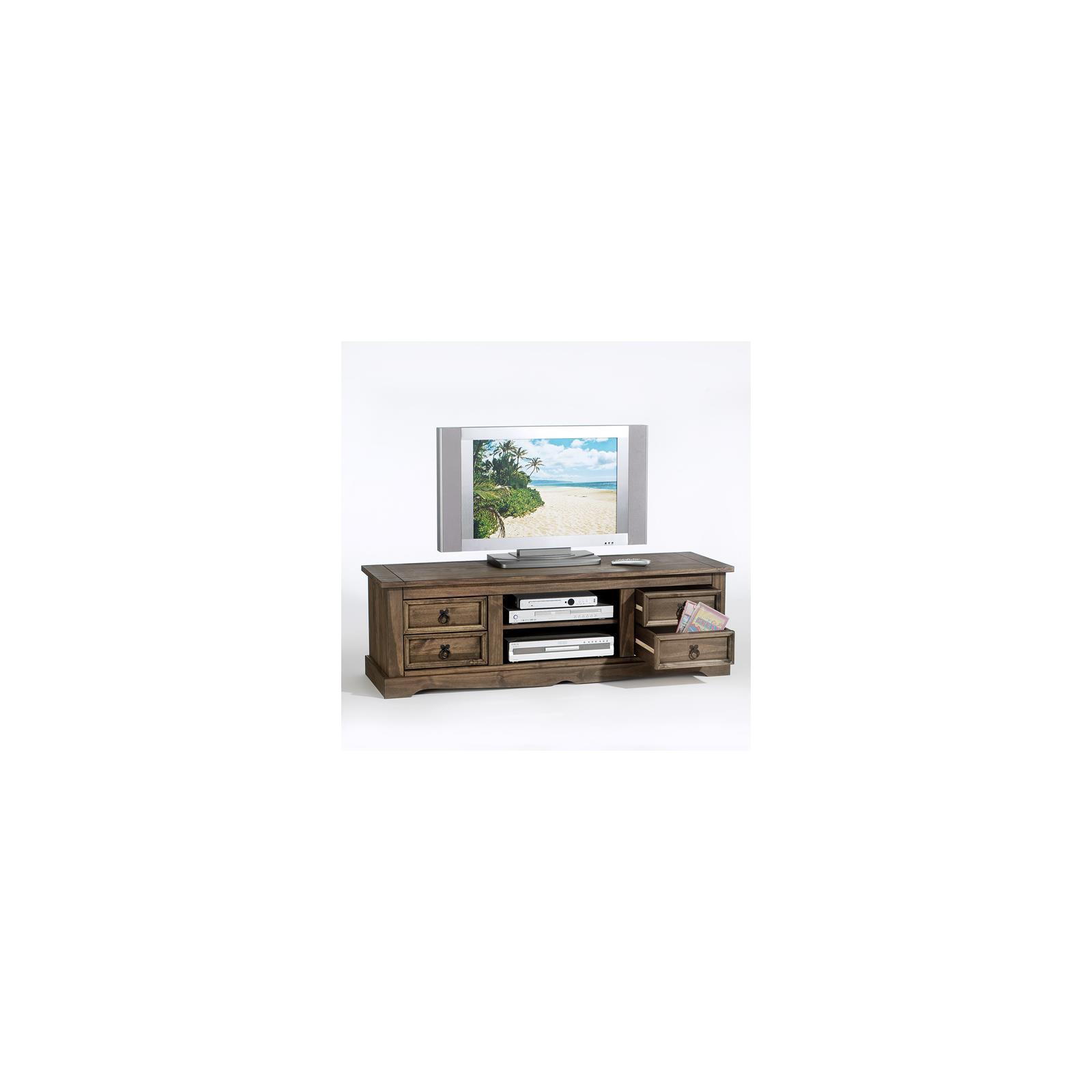 lowboard tv m bel im mexiko stil rack fernsehtisch schrank. Black Bedroom Furniture Sets. Home Design Ideas