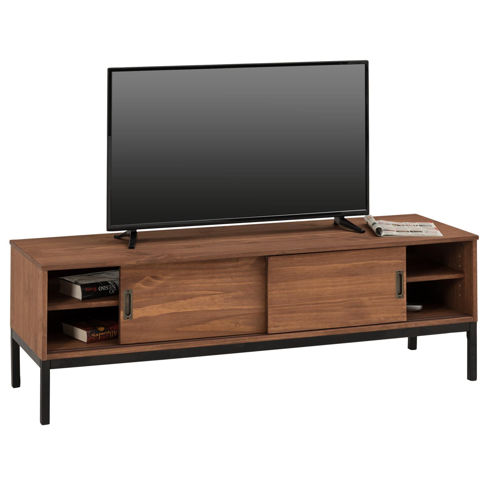 details zu lowboard tv möbel tisch schrank fernsehtisch fernsehschrank  industrial design