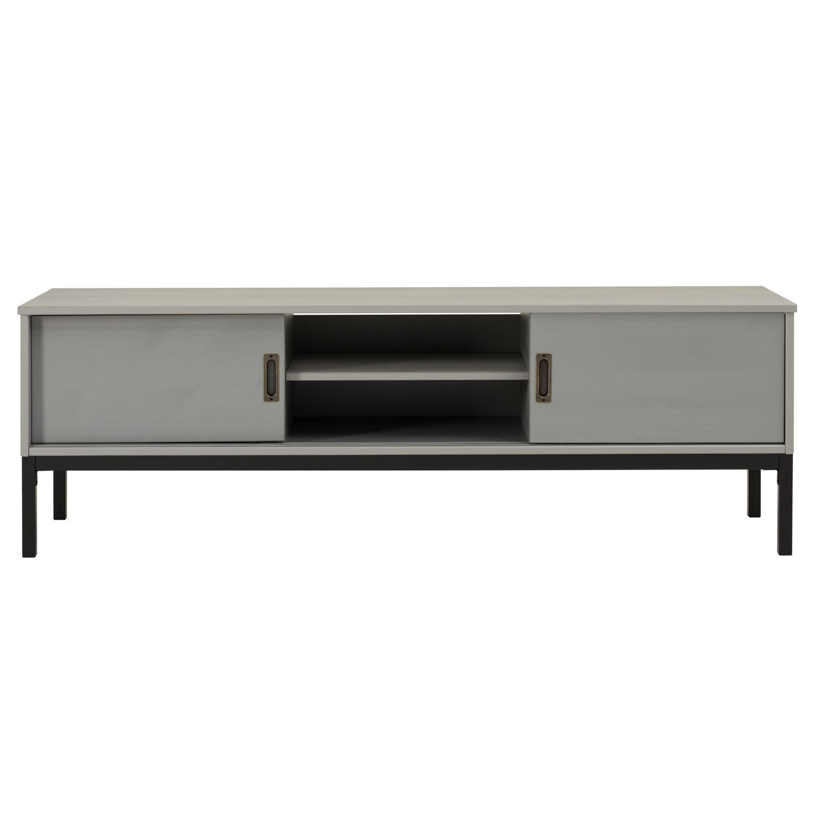 lowboard tv m bel tisch schrank fernsehtisch fernsehschrank industrial design ebay. Black Bedroom Furniture Sets. Home Design Ideas
