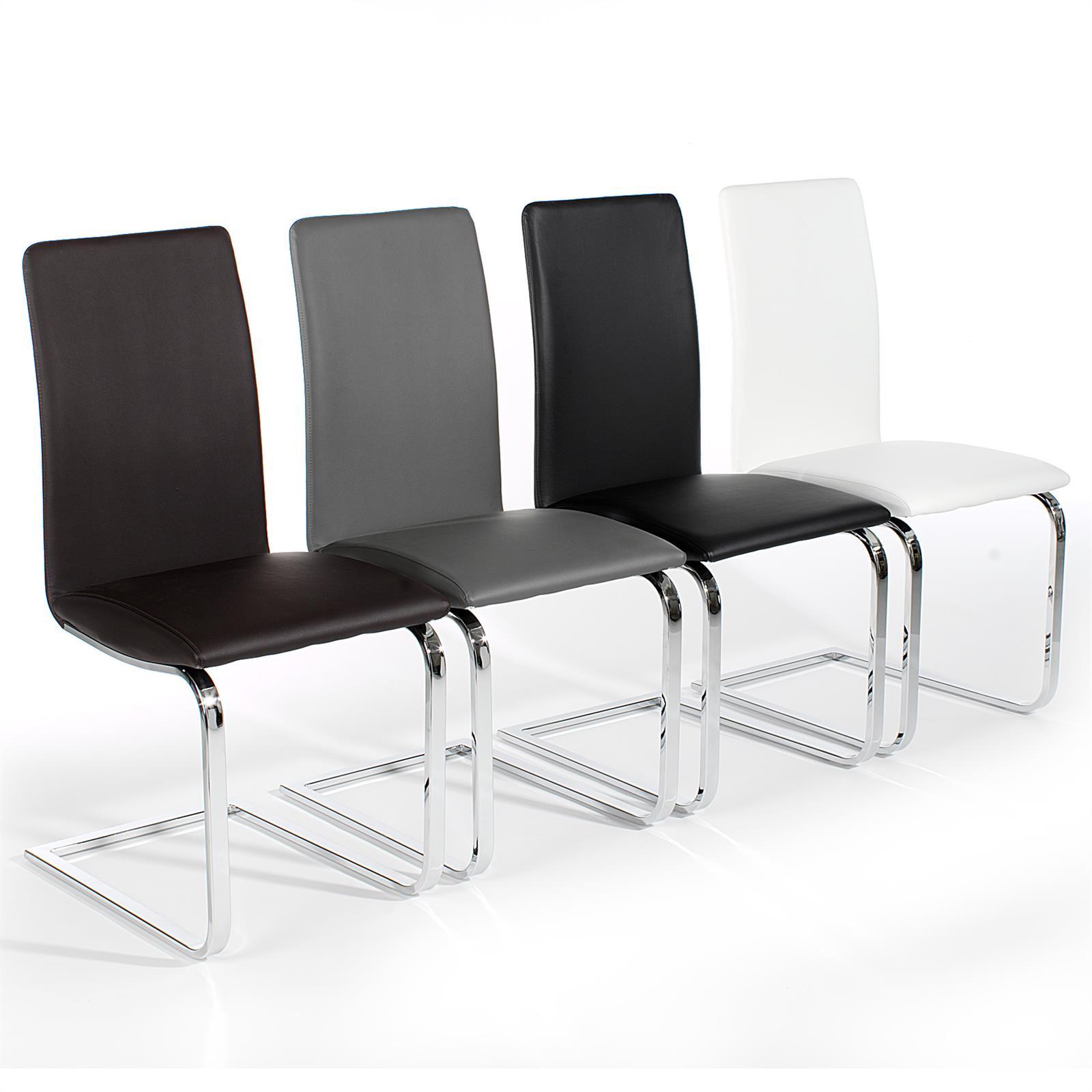 4er set schwingstuhl angelo in 4 farben mobilia24. Black Bedroom Furniture Sets. Home Design Ideas